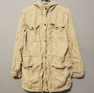Abercrombie & Fitch military cargo  jacket coat